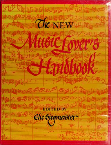The new music lover's handbook.