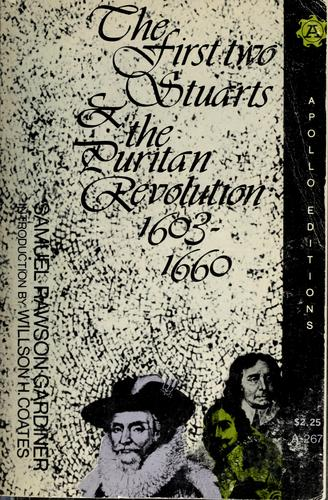 The first two Stuarts and the Puritan Revolution, 1603-1660.