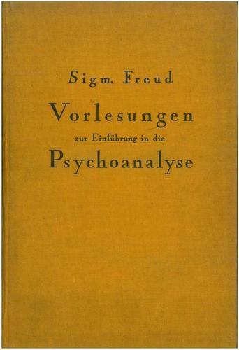 Download Vorlesungen zur Einführung in die Psychoanalyse