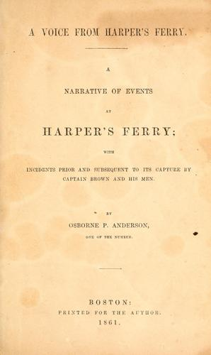 Download A voice from Harper's Ferry.