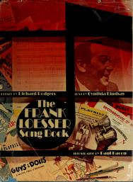 Cover of: The Frank Loesser Song Book  