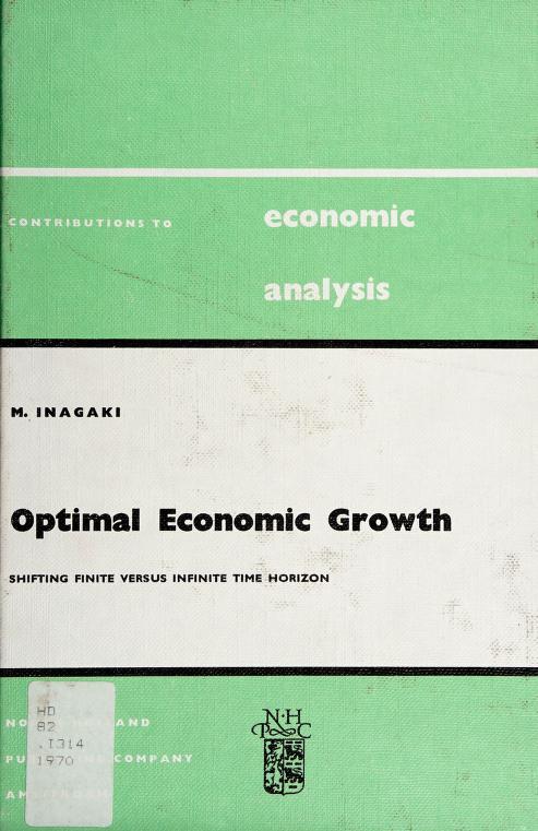 Optimal economic growth by Morido Inagaki