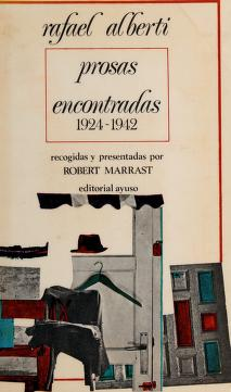 Cover of: Prosas encontradas | Rafael Alberti