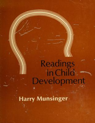Cover of: Readings in child development | edited by Harry Munsinger.