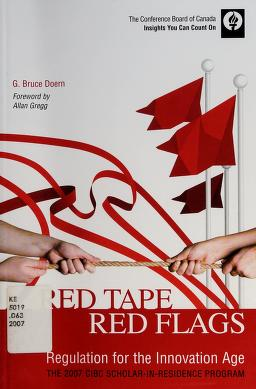 Cover of: Red tape, red flags | G. Bruce Doern