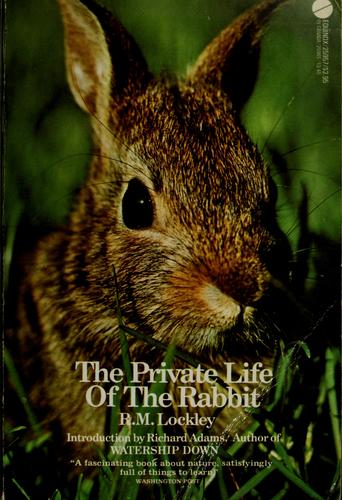 The private life of the rabbit by R. M. Lockley